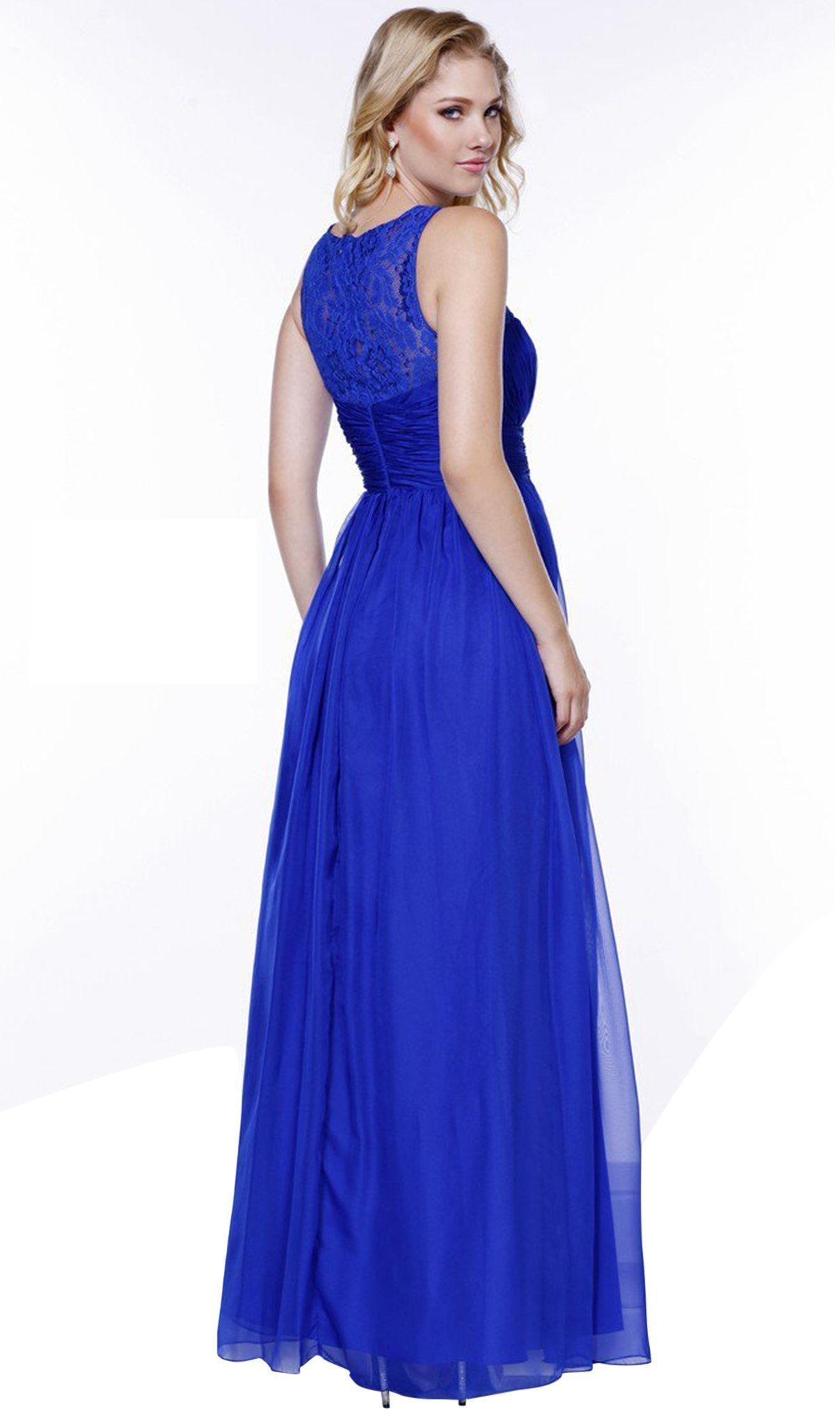 Nox Anabel - Lace and Chiffon A-Line Evening Dress 7126SC