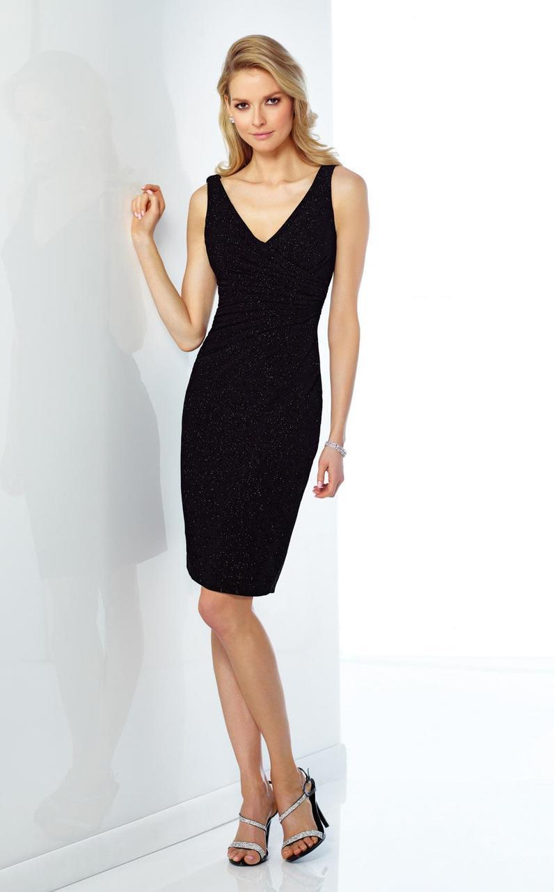 Social Occasions by Mon Cheri - 216868 Dress in Black