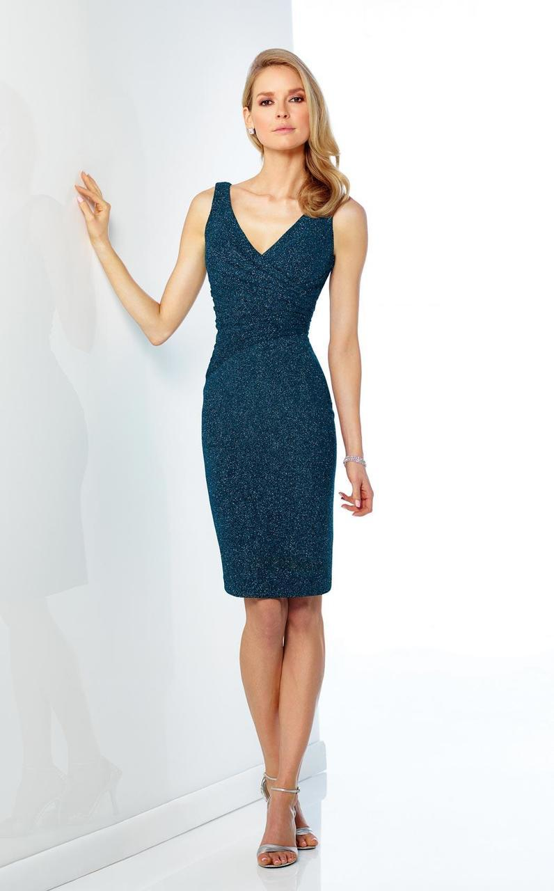 Social Occasions by Mon Cheri - 216868 Dress in Blue