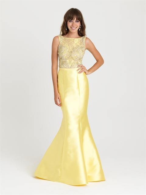 Madison James - 16-410 Dress in Yellow