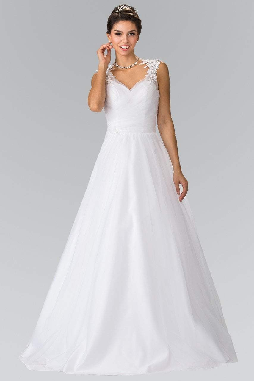 Elizabeth K Bridal - Embroidered Sweetheart Bridal Dress GL2202SC