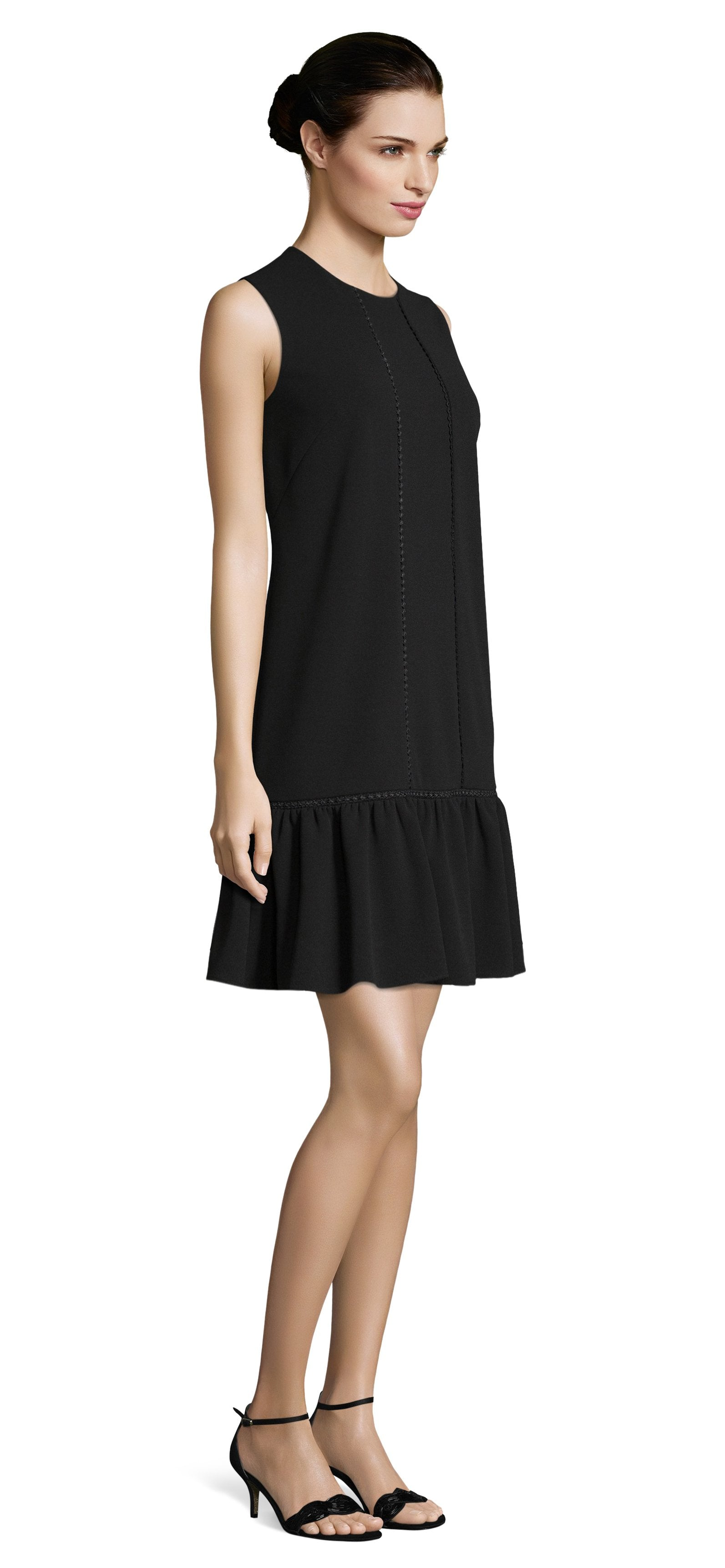 Adrianna Papell - AP1D102305 Sleeveless Jewel Cocktail Dress In Black