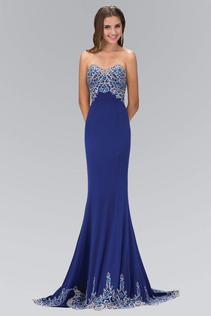 Elizabeth K - Sweetheart Lace Evening Dress GL1367SC