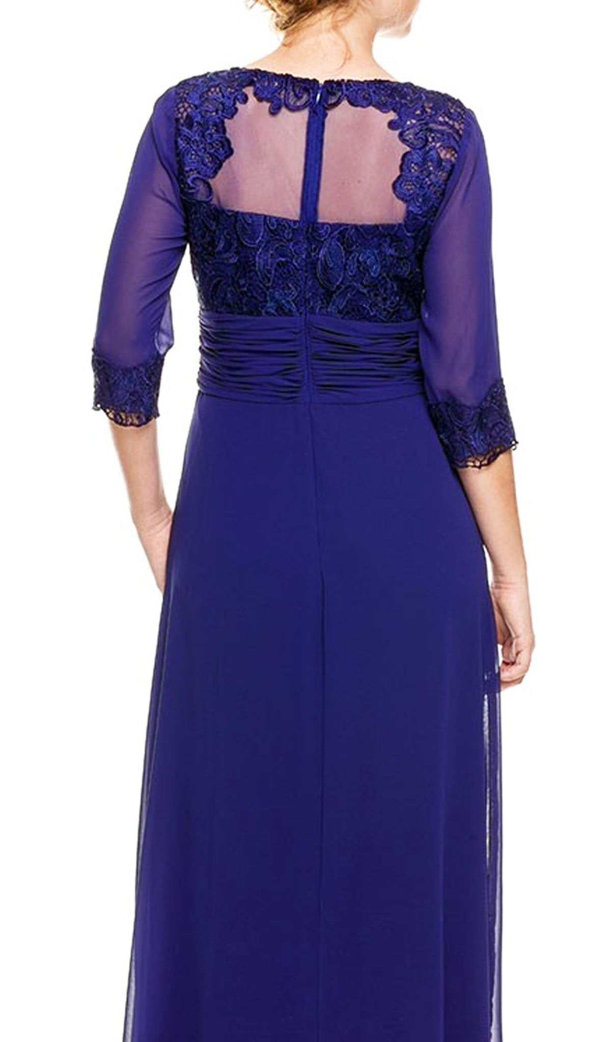 Nox Anabel - Quarter Length Sleeve Long Formal Dress 5101SC