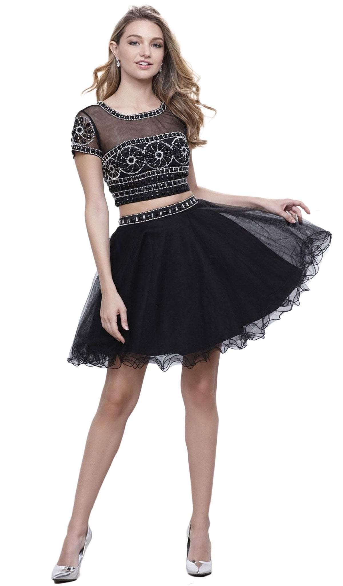 Nox Anabel - Two Piece Tulle A-line Dress 6229SC