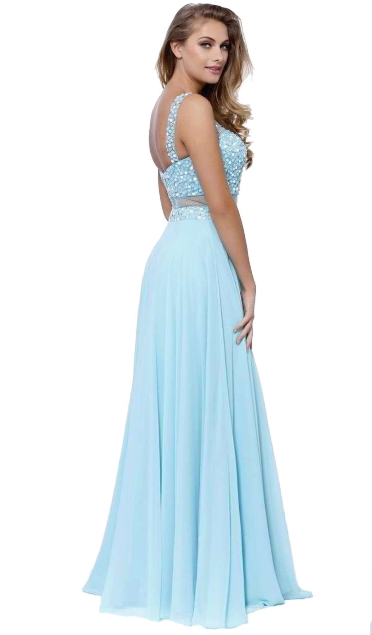 Nox Anabel - Beaded Long Evening Gown 8251SC