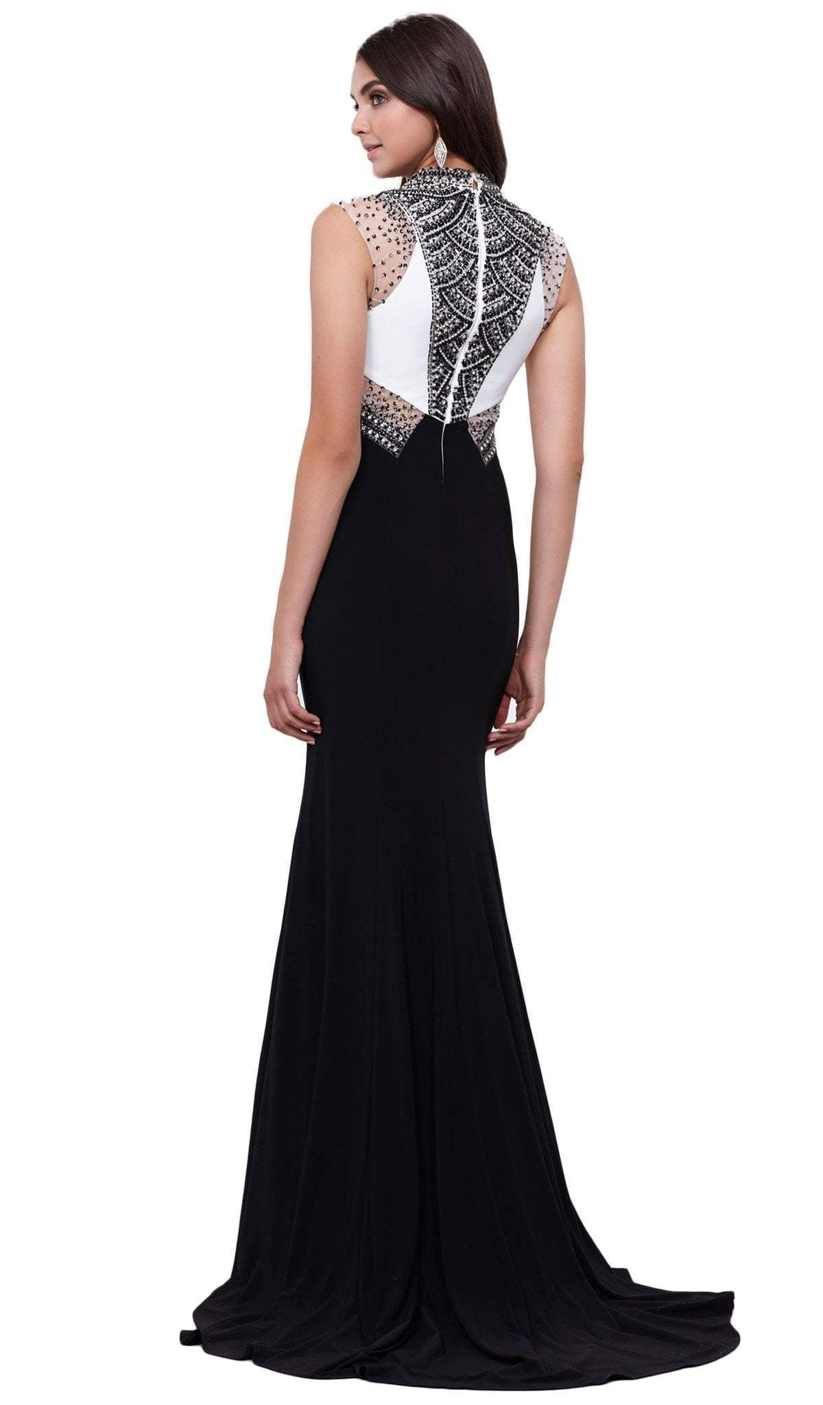 Nox Anabel - Embellished Long Evening Gown 8364SC
