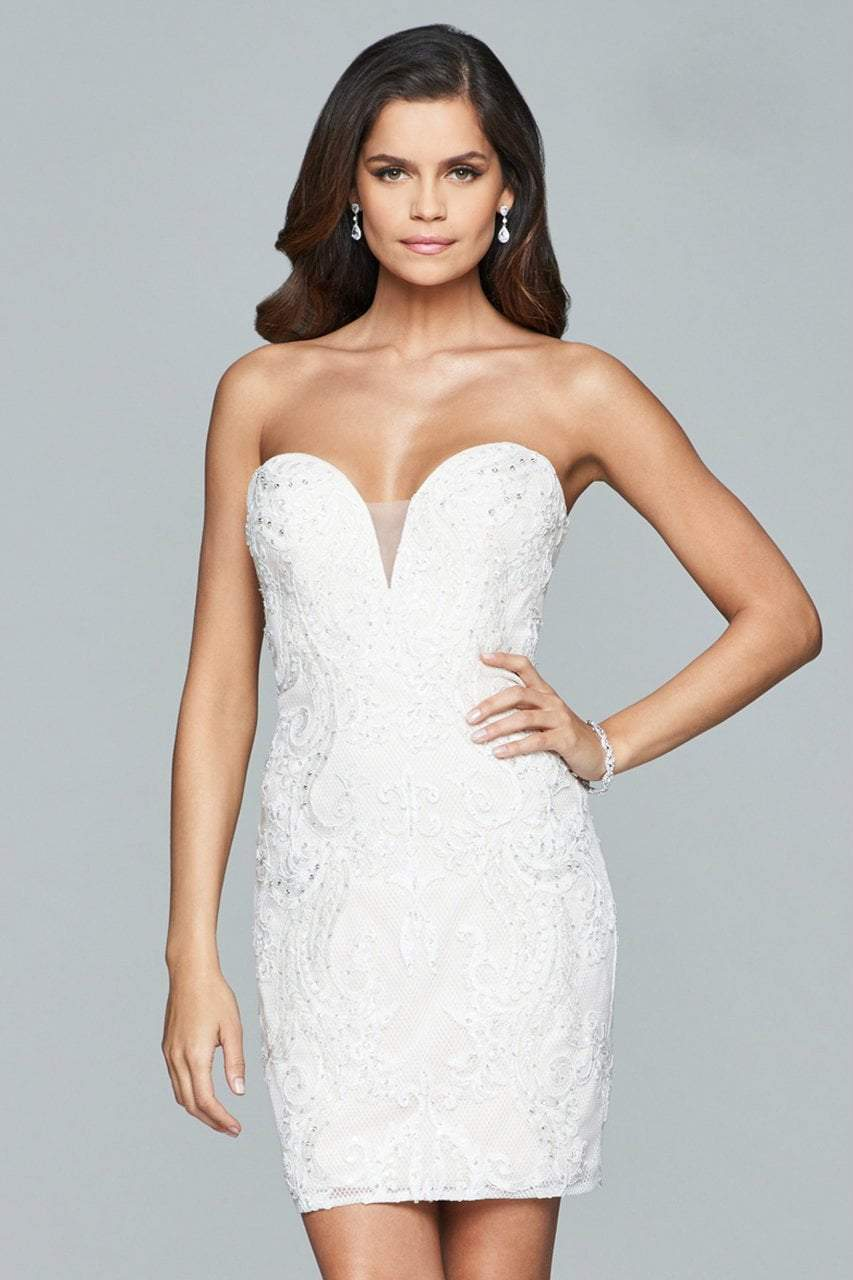 Faviana - Strapless Cocktail Dress s8090SC