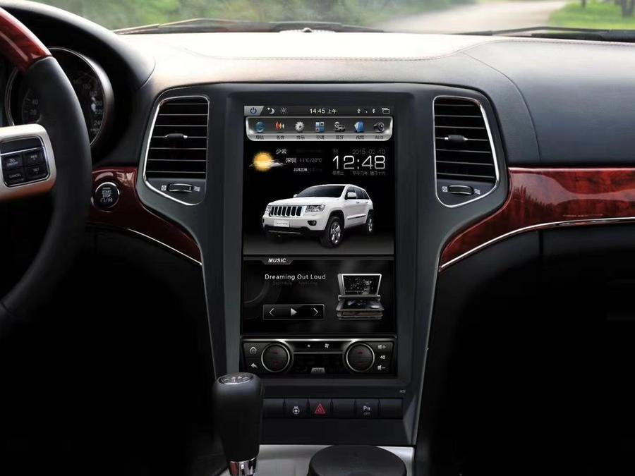 2009-2012 Jeep Grand Cherokee 13.3 Tesla-Style Android ...