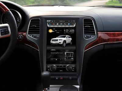 "2009-2012 Jeep Grand Cherokee 13.3"" Tesla-Style Android Radio Stereo GPS NAVI in-Dash Unit Bluetooth Wi-Fi - CARSOLL"