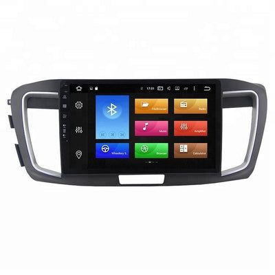 For Honda Accord 9 2013-2017 4GB+32GB Android 8 10.1 Inch Touchscreen Radio Bluetooth GPS Navigation Head Unit Stereo - CARSOLL