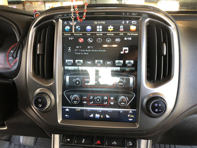 "Chevrolet Colorado GMC Canyon 2014-2018 12.1"" Tesla-Style FAST BOOT Android GPS NAVI in-Dash Unit Bluetooth Wi-Fi - CARSOLL"