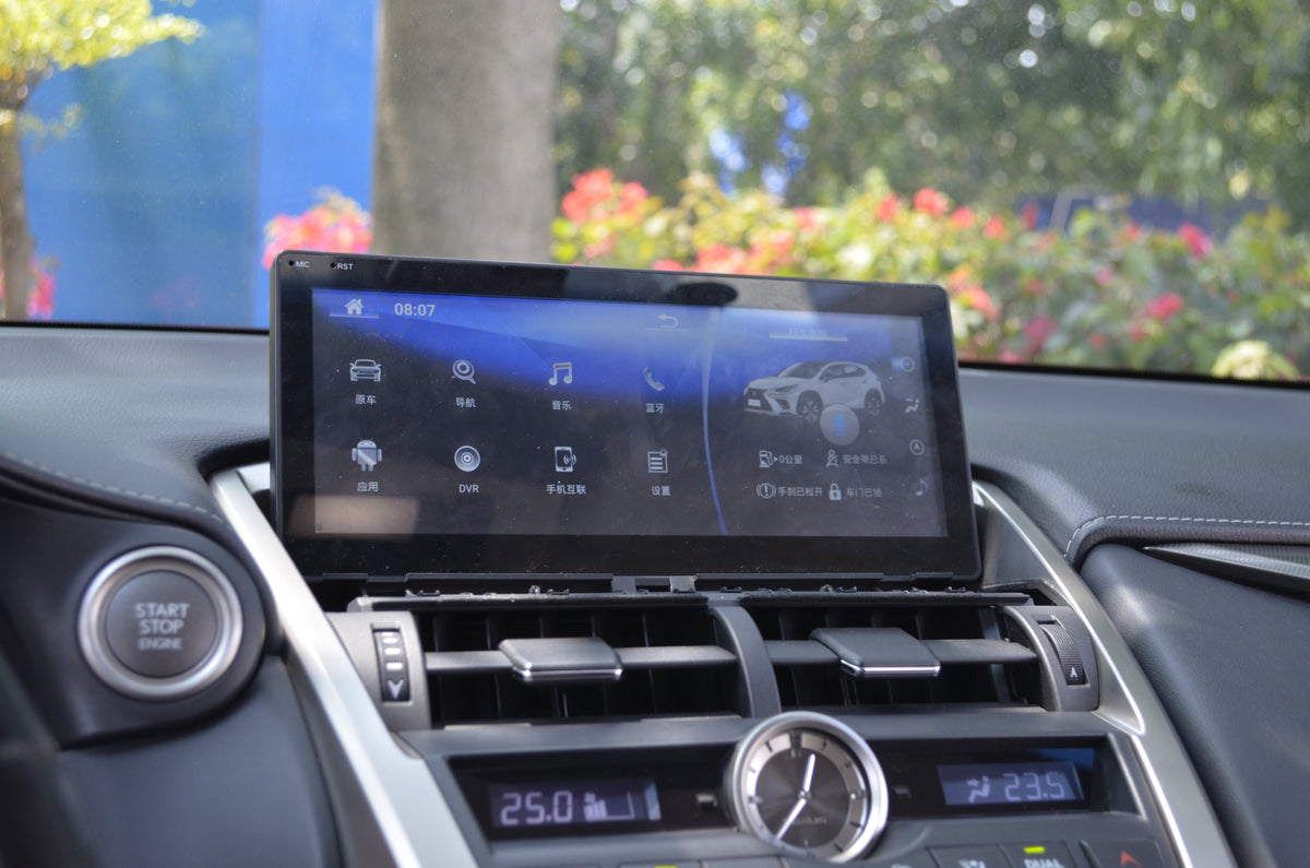 "For 2014 2015 2016 2017 Lexus NX 200 NX 200T NX 300H NX200 NX200T NX300H 10.25"" 8-core Car Stereo Android Head Unit RAM 2G ROM 32G GPS Navigation Car Radio - CARSOLL"