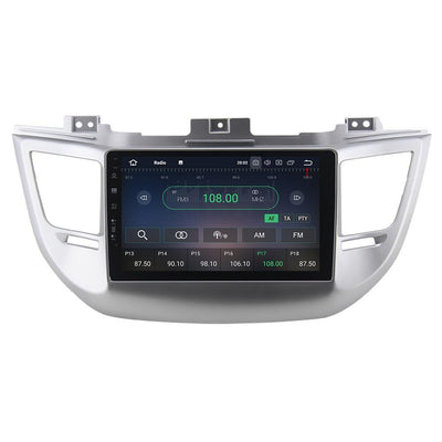 For Hyundai IX35 / Tucson 2016-2018 4GB+32GB Android 8 9 Inch Touchscreen Radio Bluetooth GPS Navigation Head Unit Stereo - CARSOLL