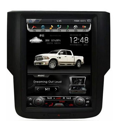"Newest PX6 version! 2013-2018 Dodge RAM 1500 2500 10.4"" Tesla-Style Android 8.1 Radio Stereo GPS NAVI in-Dash Unit Bluetooth Wi-Fi - CARSOLL"