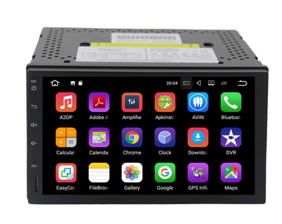 Universal radio 4GB+32GB Android 8 7 Inch Touchscreen Radio Bluetooth GPS Navigation Head Unit Stereo without DVD slot - CARSOLL