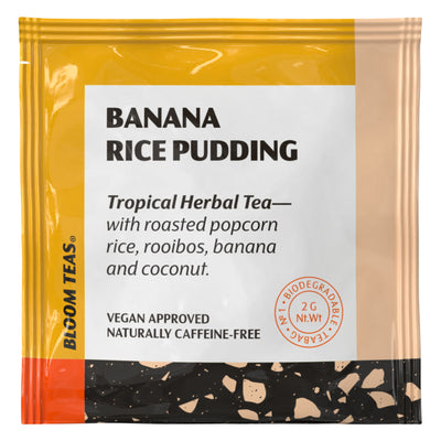 Banana Rice Pudding 1 Tea Bag Sachet Front