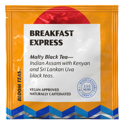 Breakfast Express 1 Tea Bag Sachet Front