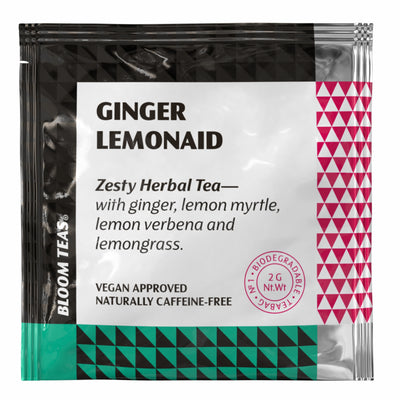 Ginger Lemonaid 1 Tea Bag Sachet Front