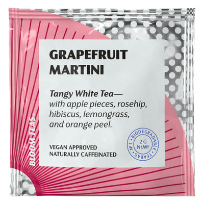 Grapefruit Martini 1 Tea Bag Sachet Front