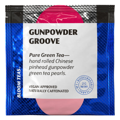 Gunpowder Groove 1 Tea Bag Sachet Front