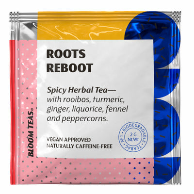 Roots Reboot 1 Tea Bag Sachet Front