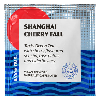 Shanghai Cherry Fall 1 Tea Bag Sachet Front