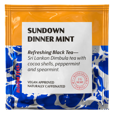 Sundown Dinner Mint 1 Tea Bag Sachet Front