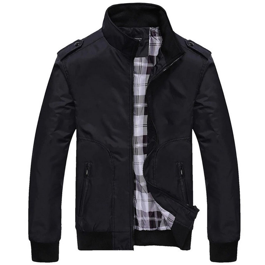 Men's Casual Zip-Up Jacket
