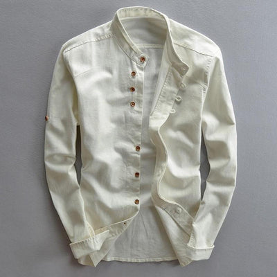 Men's Casual Long-Sleeve Shirt