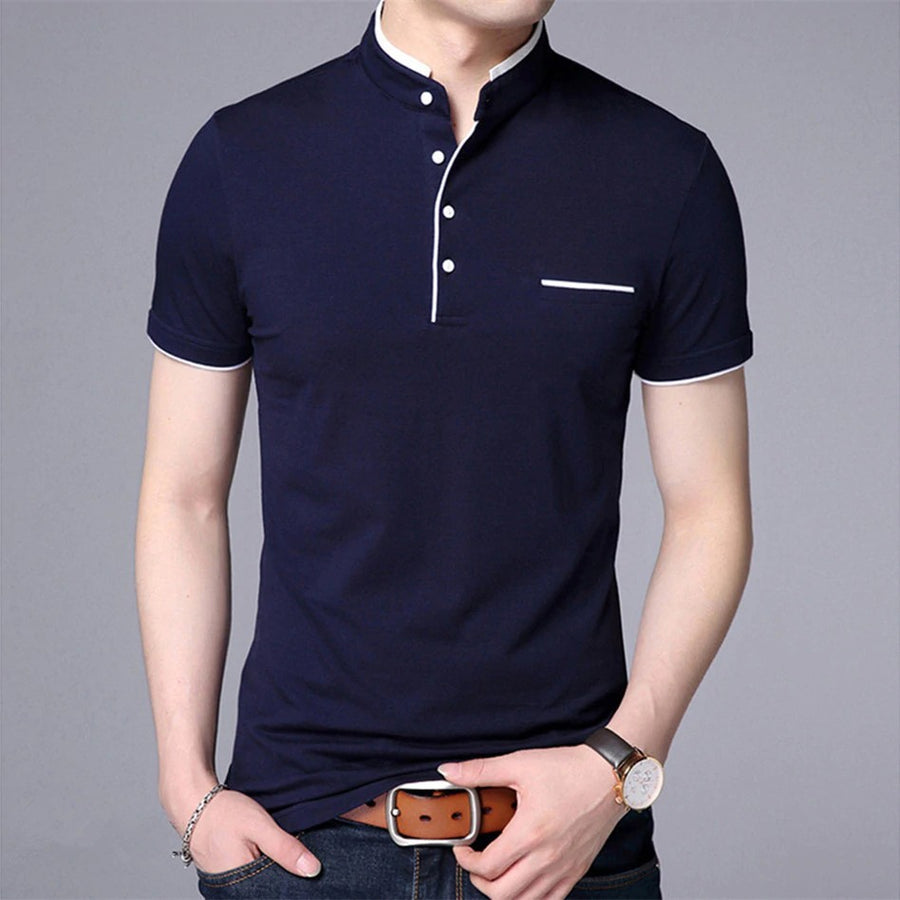 Men's Short-Sleeve Polo T-Shirt
