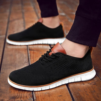 Men's Casual Lace-Up Shoes