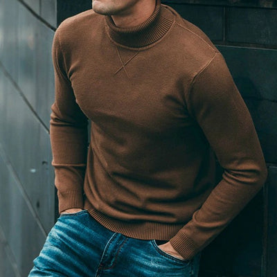 Men's Casual Turtleneck Sweater