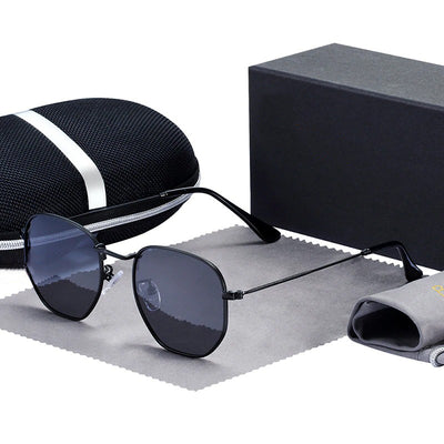 Men's Hexagon Sunglasses
