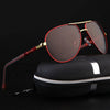 Men's Pilot Polarized Sunglasses