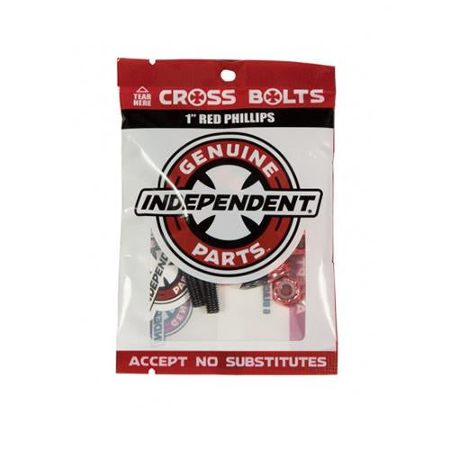 Indy Cross Bolts Hardware - Phillips