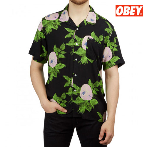 Obey Brainiac Button Down, Underground Skate Shop