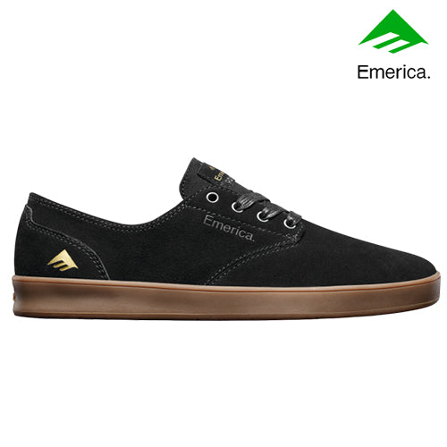 Emerica Romero Laced - Black/Gum, Underground Skate Shop