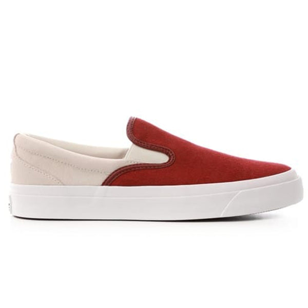 Converse One Star Slip-On - Burgundy/White, Underground Skate Shop