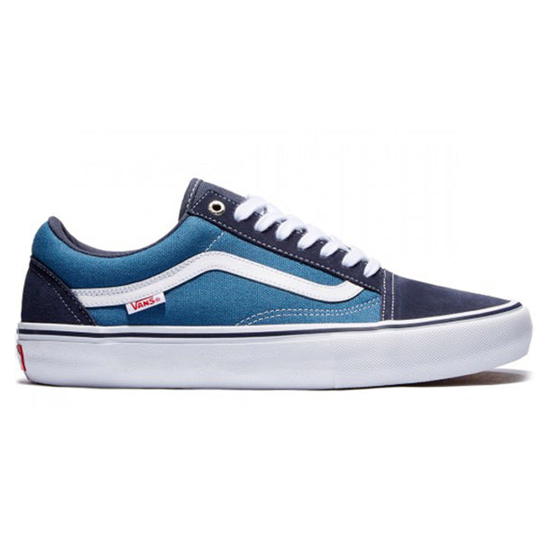 Vans Old Skool Pro - Navy/White, Underground Skate Shop