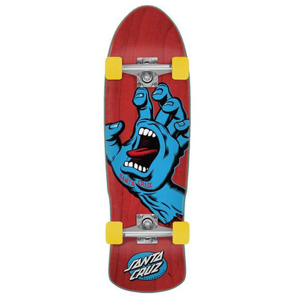 "Santa Cruz Cruiser - Screaming Hand 9.5"" Underground Skate Shop"
