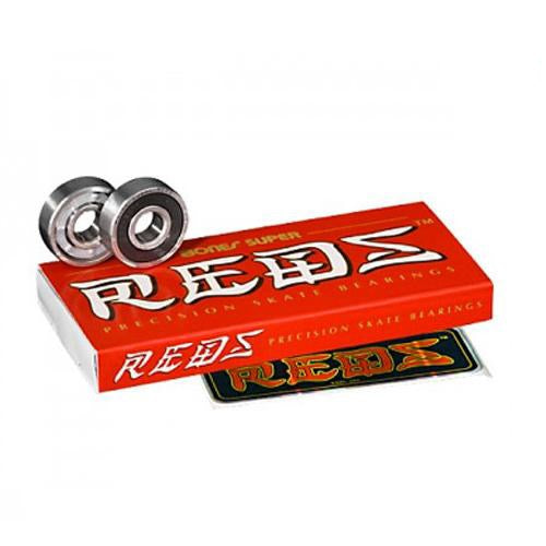 Bones Bearings - Super Reds, Underground Skate Shop