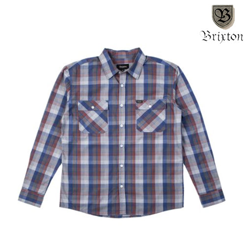 Brixton Memphis Long Sleeve Button Down, Underground Skate Shop