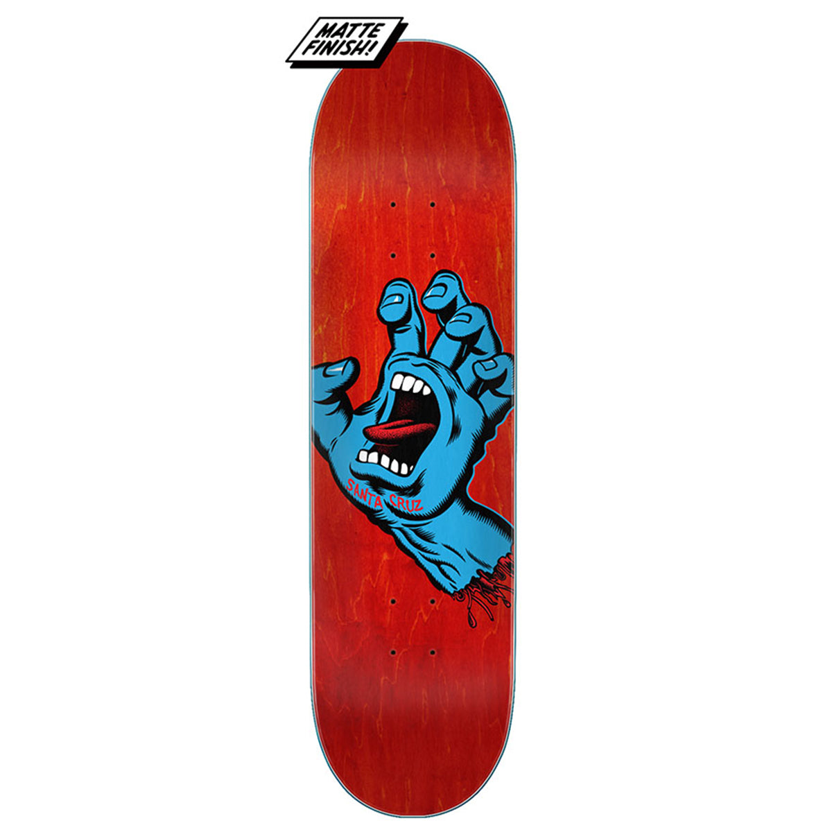 Santa Cruz Deck - Screaming Hand