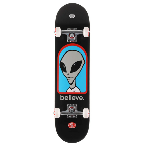 Alien Workshop Complete - Believe Black 8"