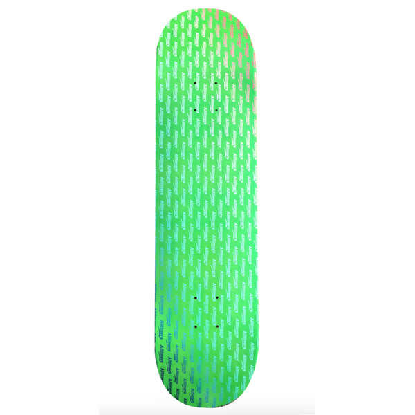 Alltimers Deck - Repeat Gradient Green | Underground Skate Shop