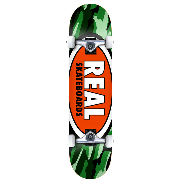 Real Complete - Oval Camo 7.75"