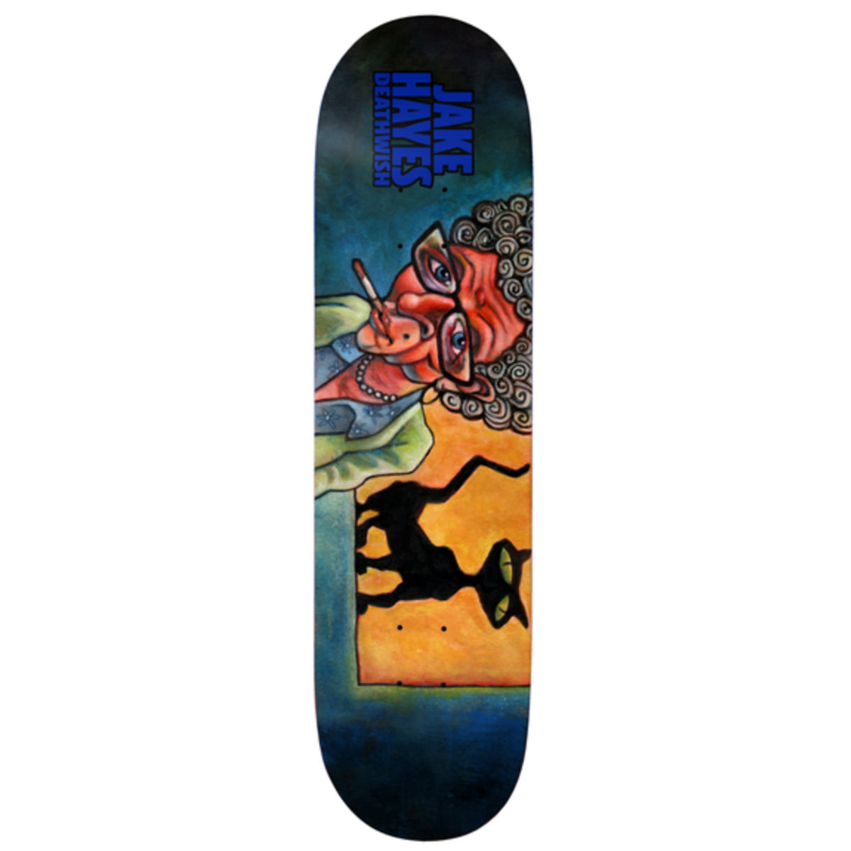 Deathwish Deck - Jake Hayes Cat Lady | Underground Skate Shop