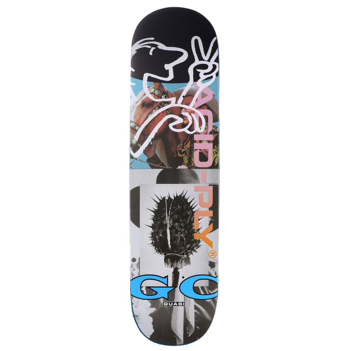 Quasi Deck - Gilbert Crocket Acid Ply - Blue | Underground Skate Shop