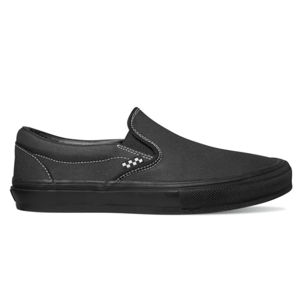 Vans Skate Slip-On - Blackout | Underground Skate Shop